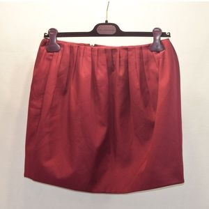 Kate Spade Saturday Crimson/ Red Mini Skirt Sz 6